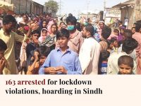 Police has said that a total of 163 arrests were made on Monday across Sindh.  T... 21