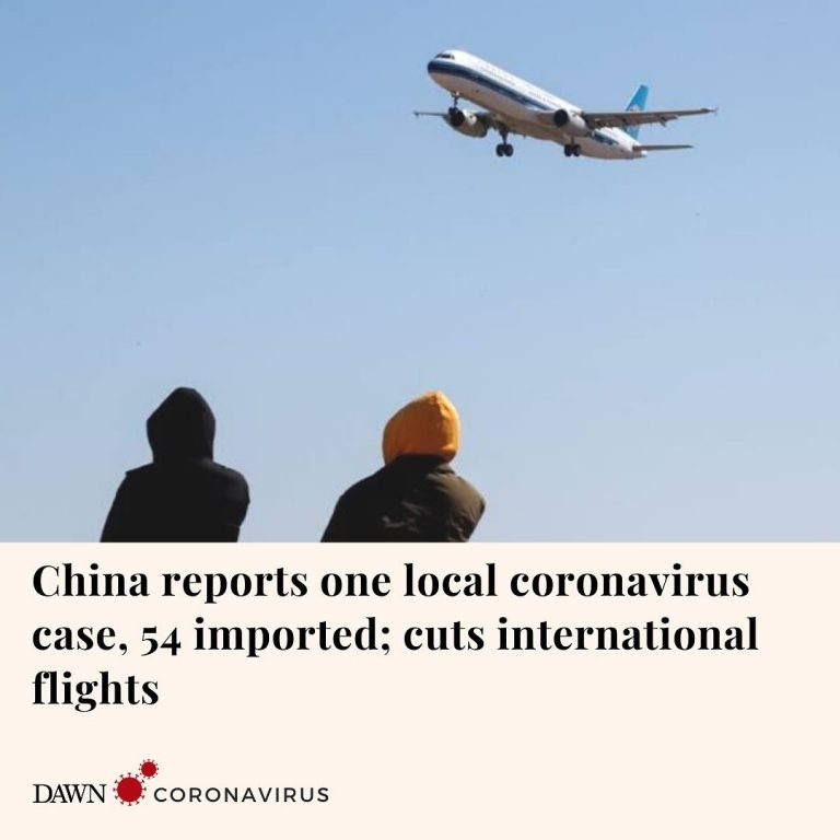 Mainland China reported its first locally transmitted coronavirus case in three ... 3