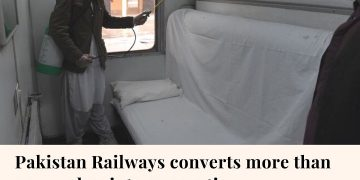 Pakistan Railways (PR) has converted more than 30 AC business and AC sleeper coa... 20