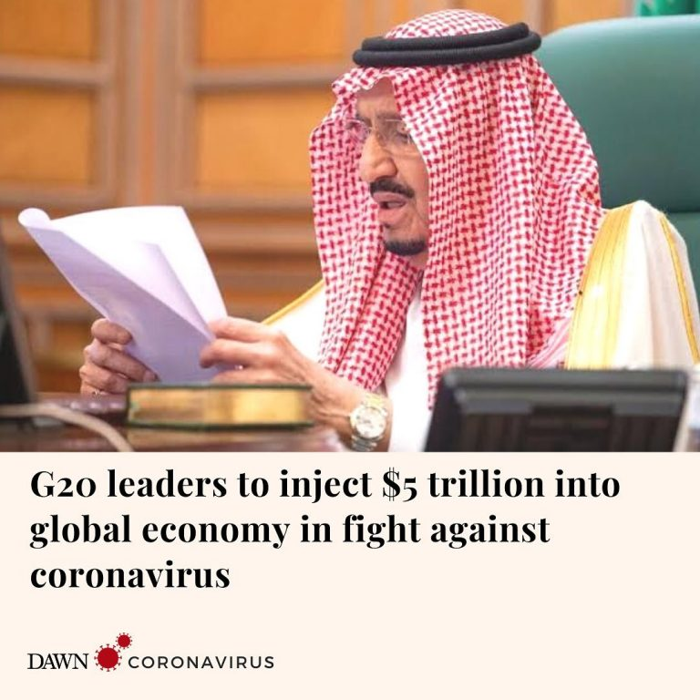 Leaders of the Group of 20 major economies pledged on Thursday to inject over $5... 3