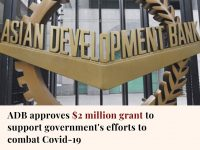 The Asian Development Bank has approved a further $2 million grant to support th... 15