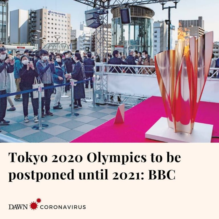 The 2020 Olympic Games will be postponed by one year because of coronavirus, Int... 3
