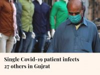 A man tested positive for the virus has reportedly infected 27 others in Gujrat ... 26