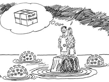 Today's cartoon by Zahoor.   #DawnToday 1