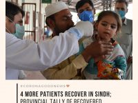 Today's #CoronaGoodNews: 4 more patients recover in Sindh; provincial tally of r... 16