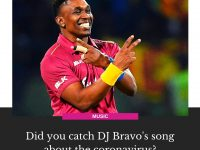 #WestIndies cricketer #BJBravo, who previously went viral for song #Champion sha... 8