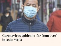 Myanmar has reported its first coronavirus death, a 69-year-old man who also had... 4