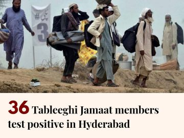 Authorities in Sindh on Monday reported 36 coronavirus cases of local transmissi... 17