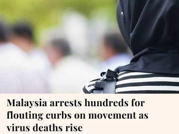 Malaysia this week arrested hundreds of people for violating restrictions aimed ... 3