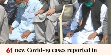 According to the Sindh health department, 61 new coronavirus cases have been rep... 3
