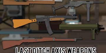 Last Ditch Axis Weapons