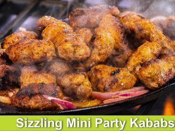 Sizzling Mini Gola Kababs Dawaton ya Parties ki Idea Recipe in Urdu Hindi - RKK