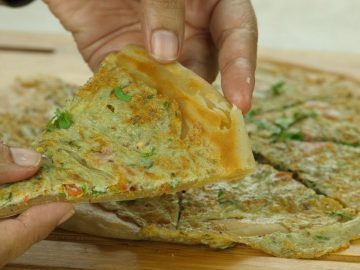 Special Lachay dar Anda Paratha  Recipe By Food fusion
