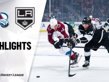 NHL Highlights | Avalanche @ Kings 03/09/20
