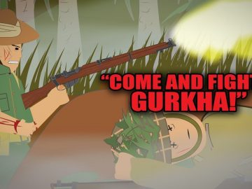 The Gurkha who took on 200 Soldiers with only One Hand