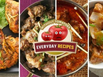 Everyday Chicken & Mutton Recipes without Tomatoes By Food Fusion