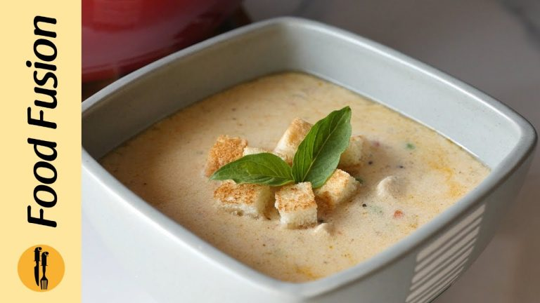 Cream of Chicken Soup Recipe By Food Fusion