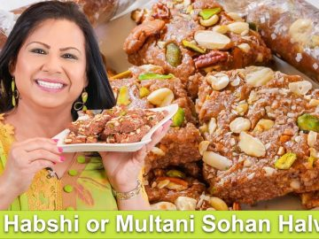 Habshi Halwa ya Phir Multani Sohan Halwa Homemade Mithai Recipe in Urdu Hindi - RKK