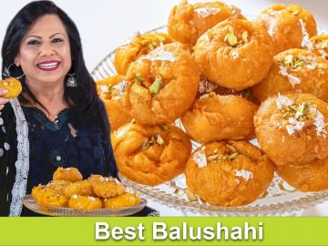 Balushahi Best, Fast & Easy Homemade Mithai Recipe in Urdu Hindi - RKK