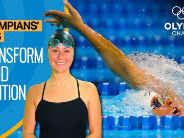 Improve your Backstroke Swimming technique | Learn from an Olympic Medallist | Olympians' Tips