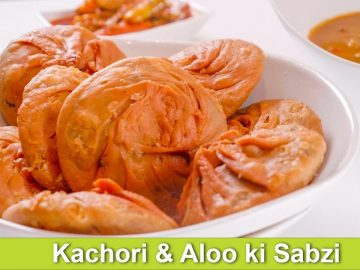 Kachori Aur Aloo ki Sabzi Salan ya Phir Tarkaree Recipe in Urdu Hindi - RKK
