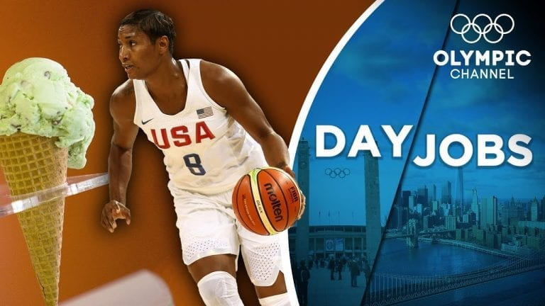 Basketball & Ice Cream - How an Olympic Champion does business   Day Jobs