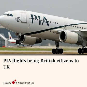 Two PIA flights carrying nearly 600 British citizens landed in Manchester and Lo... 27