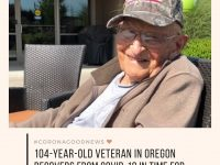 William Lapschies, a resident of Oregon, US, made a full recovery from Covid-19 ... 19