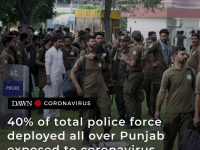 Forty per cent of the total police force (128,319) deployed all over the provinc... 20
