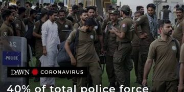 Forty per cent of the total police force (128,319) deployed all over the provinc... 19