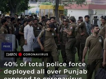 Forty per cent of the total police force (128,319) deployed all over the provinc... 1