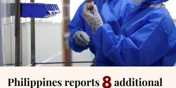 The Philippine health ministry has reported eight additional coronavirus deaths ... 6