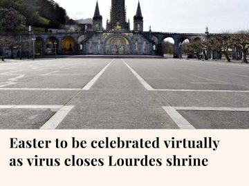 Shuttered by the coronavirus outbreak, France's Lourdes Roman Catholic shri... 11