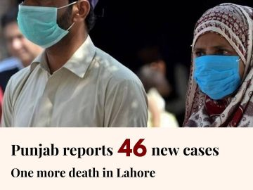 46 new coronavirus cases have been confirmed in Punjab, taking the provincial ta... 13