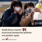 South Korean officials have reported 91 patients thought cleared of the new coro... 1
