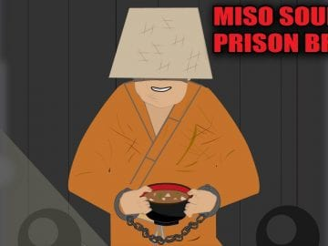 The  Prison Break using a Bowl of Miso Soup (Strange Stories)