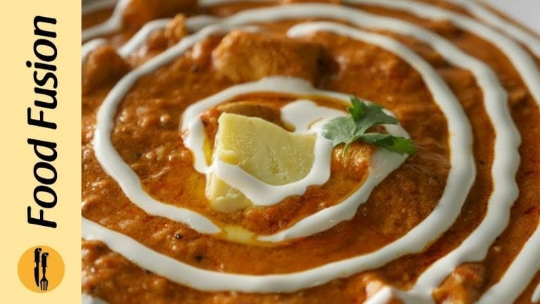 Instant Butter Chicken Recipe by Food Fusion