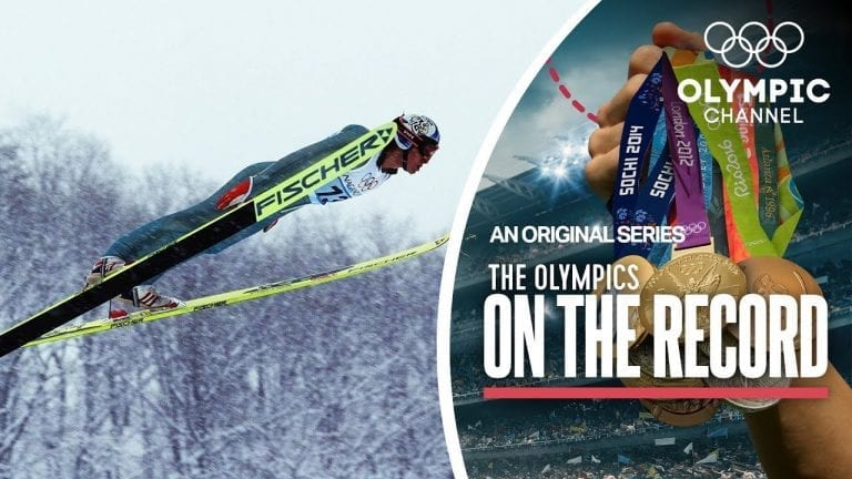 """The """"Comaneci"""" of Ski Jumping Gets The First Perfect 20s   Olympics on the Record"""