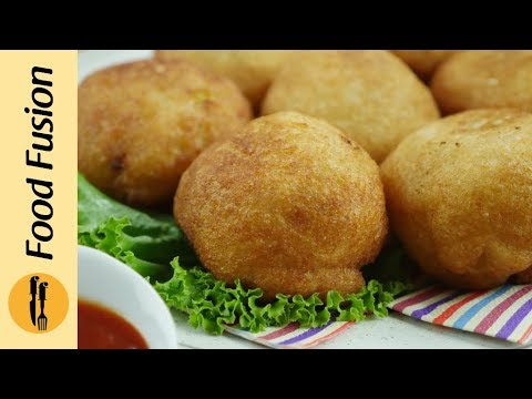 Fried Potato (cheese) Stuffed Bread Balls Recipe By Food Fusion