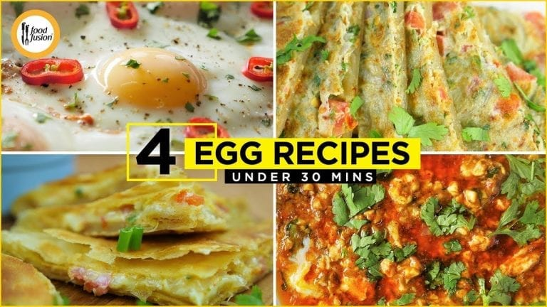 4 Egg Recipes Under 30 Min By Food Fusion (Sehri & Breakfast Recipes)