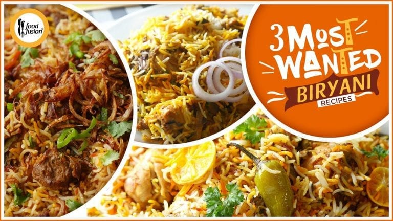 Most Wanted Biryani Recipes By Food Fusion