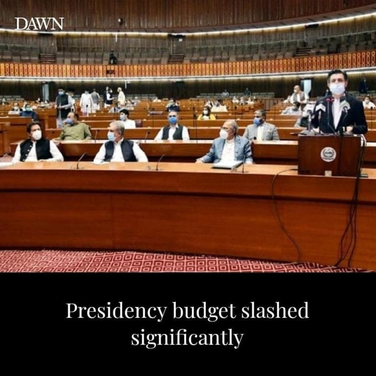 The overall budget of presidency has been cut by more than 60 per cent but those... 3