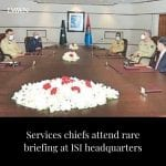Services chiefs on Tuesday expressed satisfaction over preparedness of the Inter... 6
