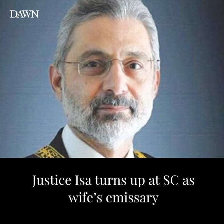 Attired in a grey suit, Justice Qazi Faez Isa on Wednesday wrote history when he... 3