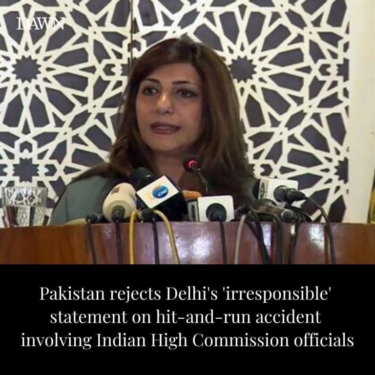 The Foreign Office (FO) on Tuesday rejected the Indian Ministry of External Affa... 3