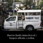 Two Rangers officials and a civilian lost their lives in a blast near a meat sho... 6