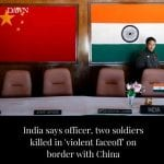 The Indian army said on Tuesday that one of its officers and two soldiers were k... 6