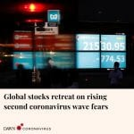 Asian stocks and Wall Street futures fell as spiking coronavirus cases in some U... 6