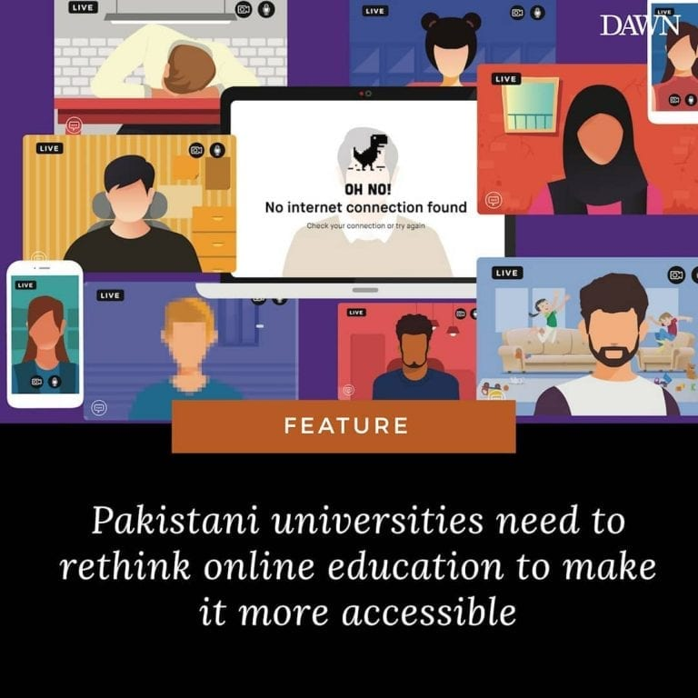 As Covid-19 started spreading across Pakistan, university campuses were the firs... 3