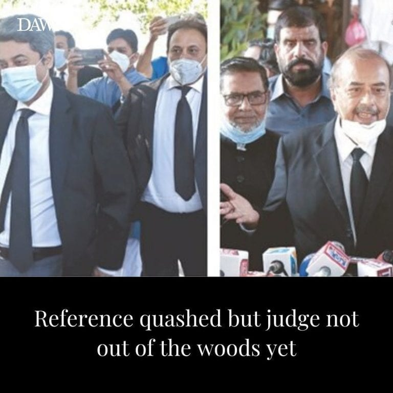 The Supreme Court on Friday quashed the presidential reference against Justice Q... 3